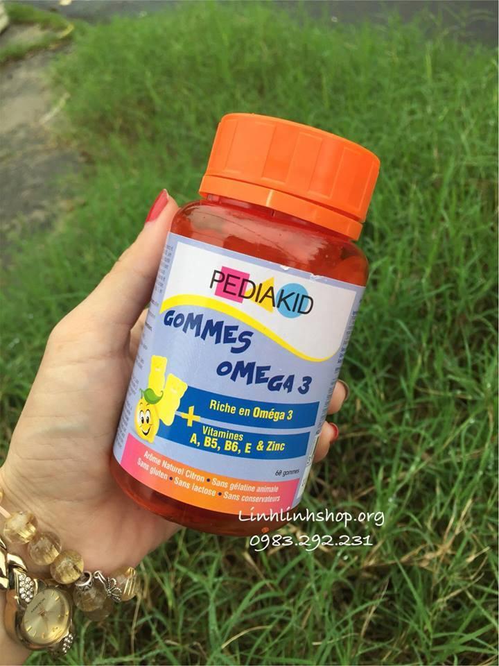 Kẹo dẻo Pediakid Omega 3