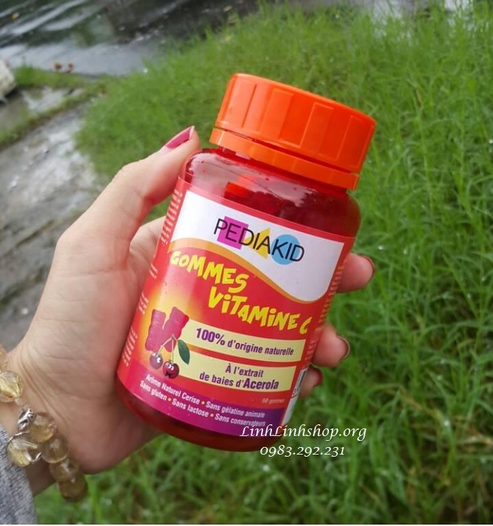 Kẹo dẻo Pediakid Vitamin C