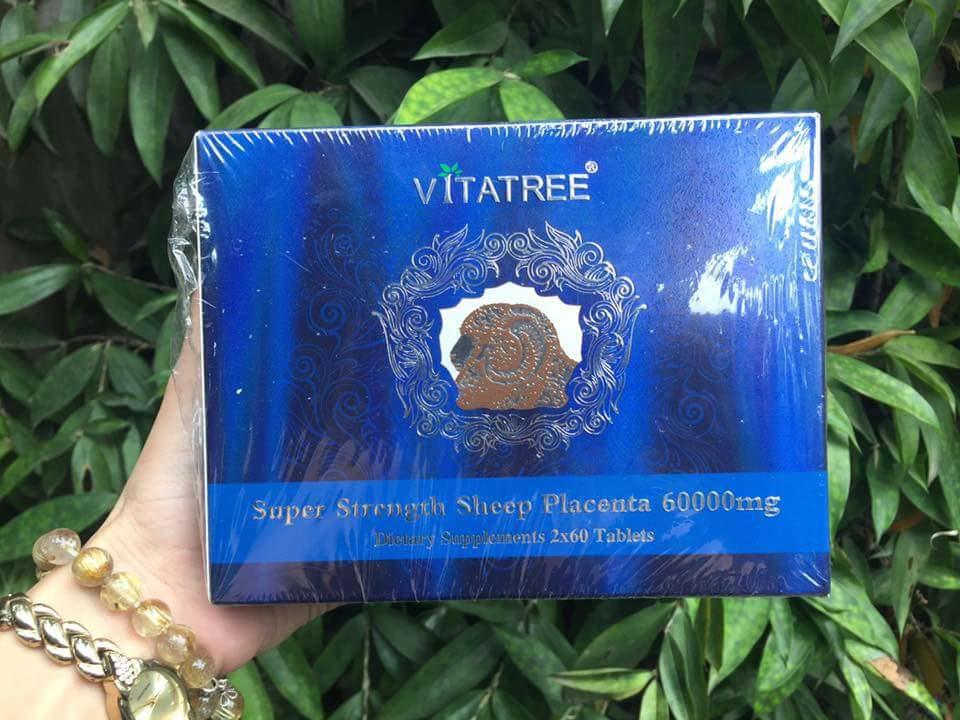 Nhau thai cừu Vitatree 60000mg