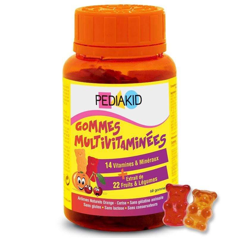 Kẹo Pediakid 14 vitamin & 22 khoáng chất
