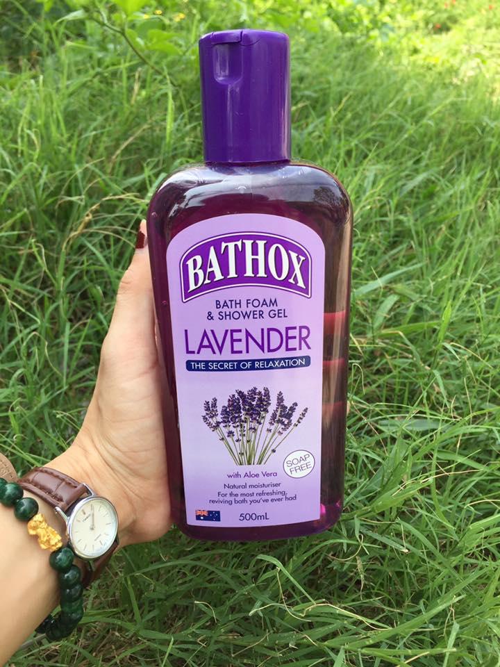 Sữa tắm Bathox Hương Lavender Úc