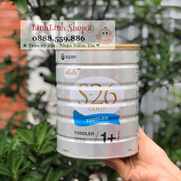 Sữa S26 hộp 900g xách Úc số 3 và 4