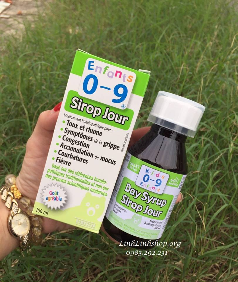 Siro cảm cúm  Cough & Cold Syrup FOR for Kids 0-9y