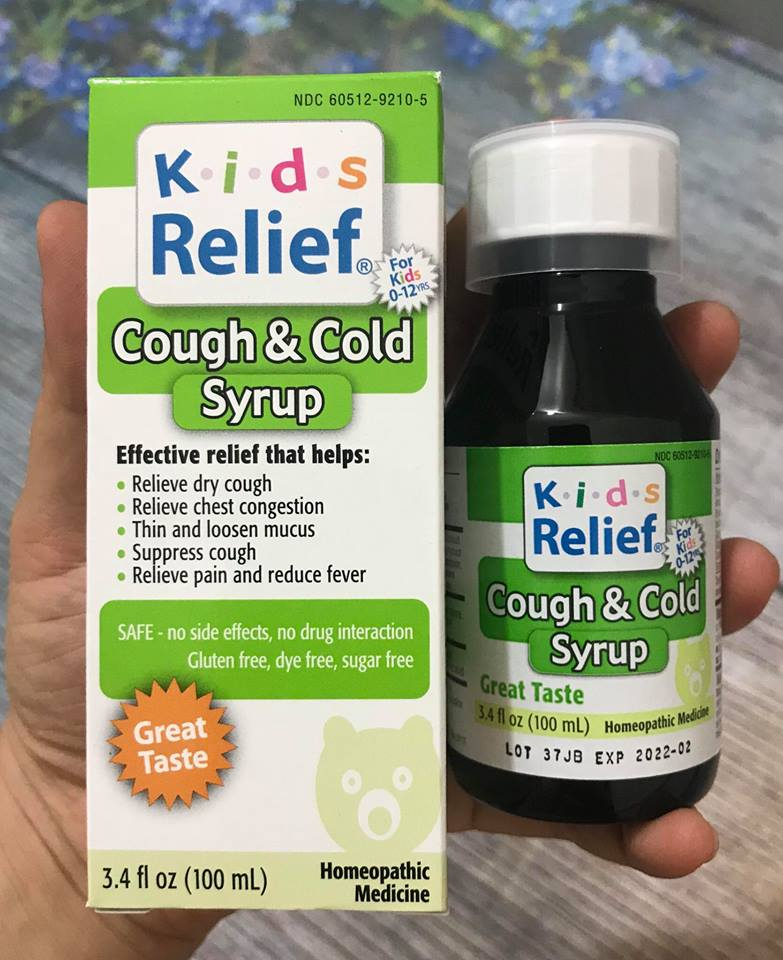 Siro cảm cúm Kids Relief Cough & Cold Syrup