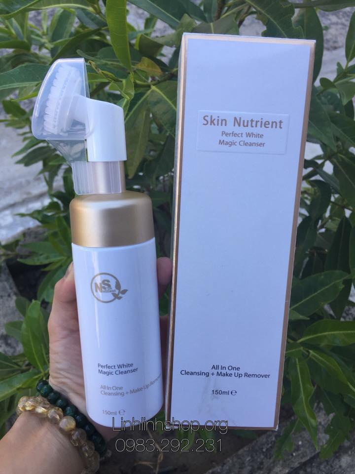 Sữa rửa mặt tẩy trang Skin Nutrient Perfect White Magic Cleanser