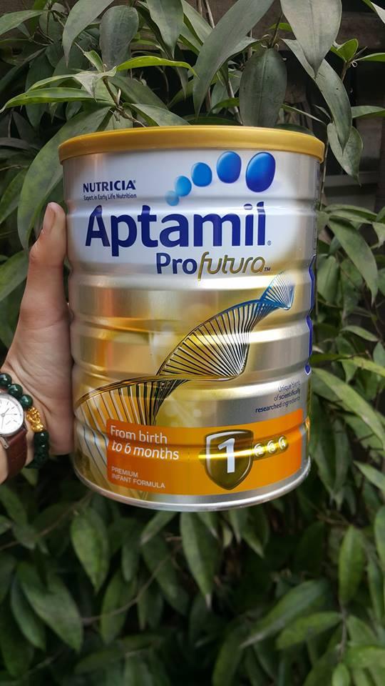 Sữa Aptamil Úc 900g số 1
