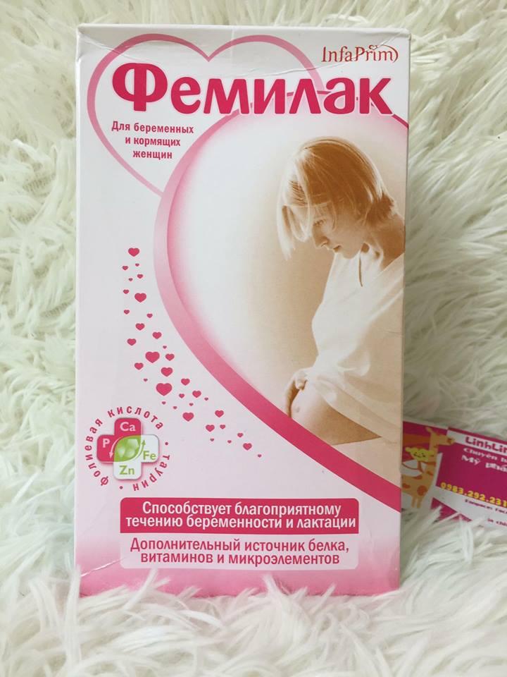 Sữa bầu Femilak cho bà bầu