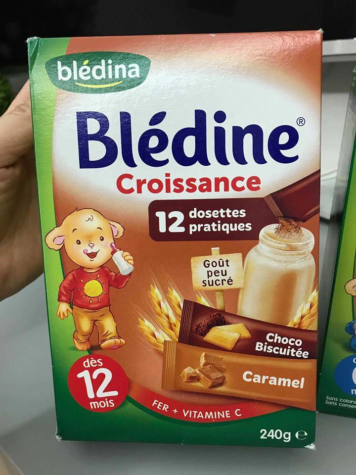 Bột Pha Sữa BLEDINA Vị Caramel 12 Tháng