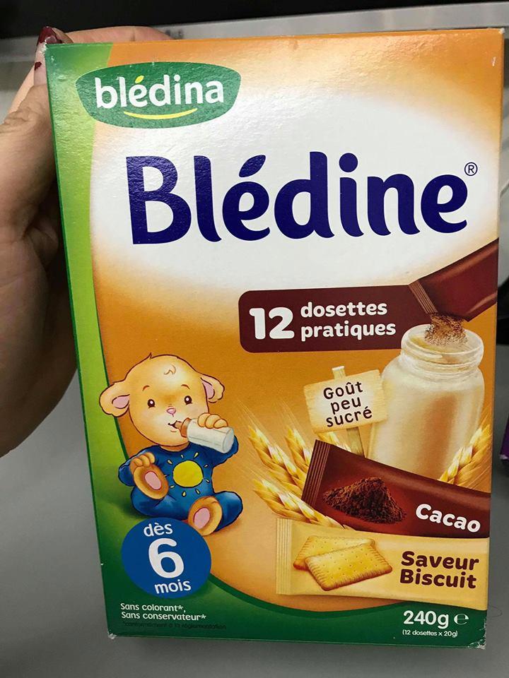 Bột Pha Sữa BLEDINA Vị Vani 12 tháng