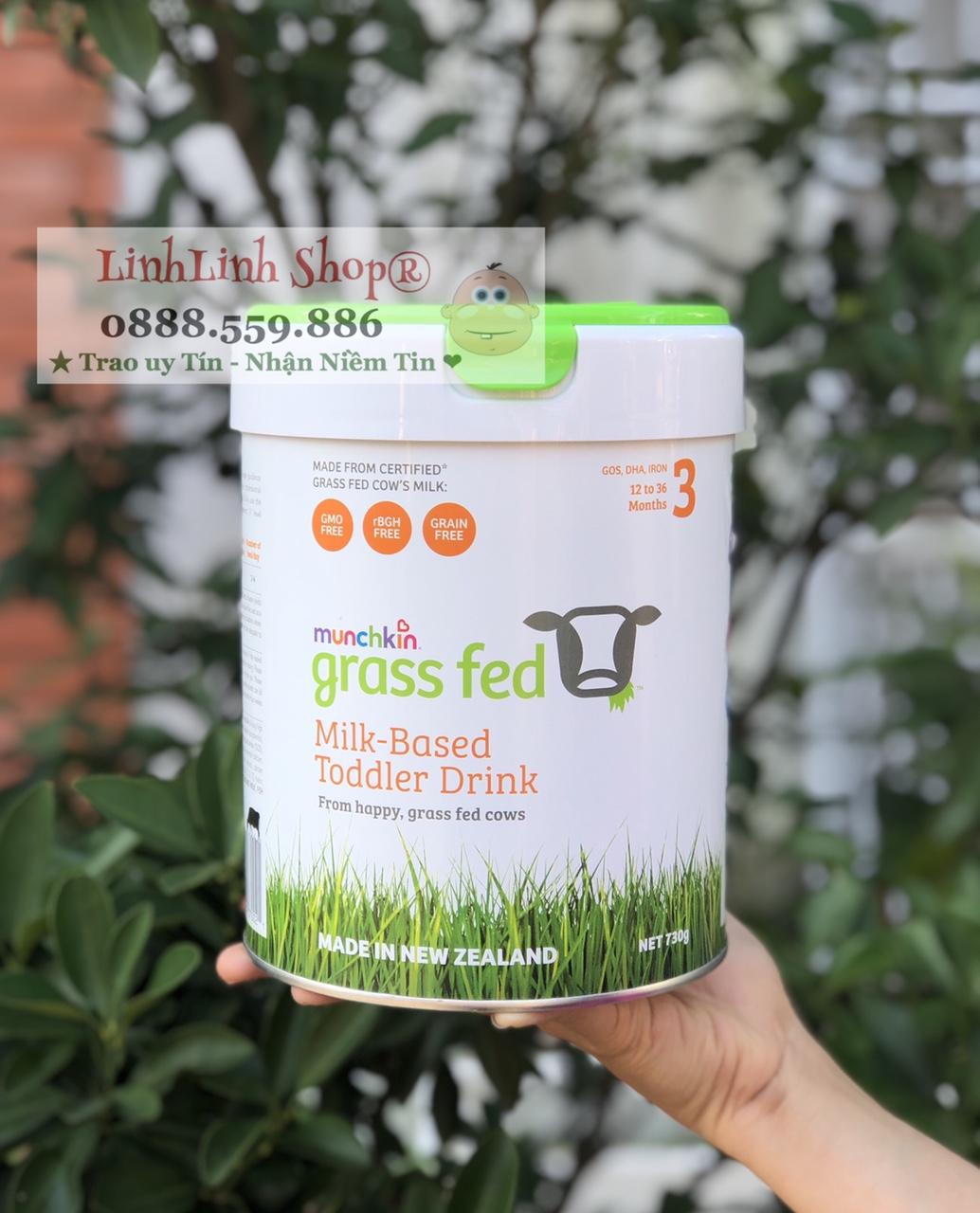 Sữa Grass Fed Baby Formula 3 (1-3 tuổi)