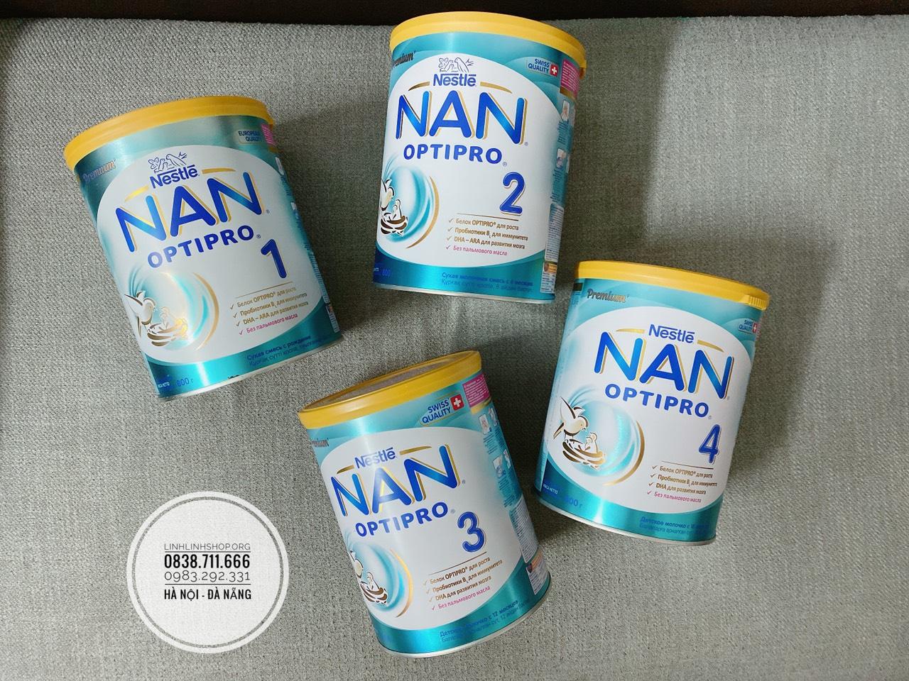 Sữa Nan hộp 800g - Hàng xách tay Nga