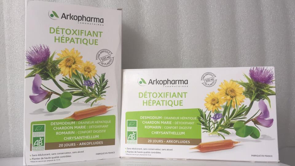Thải Độc cơ thể Arkofluides Bio Detox