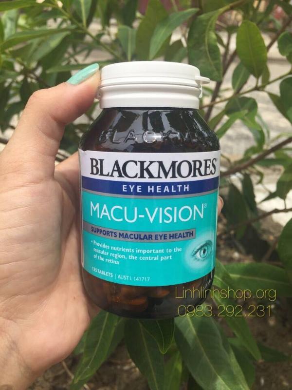 Viên Uống Bổ Mắt Blackmores Macu - Vision