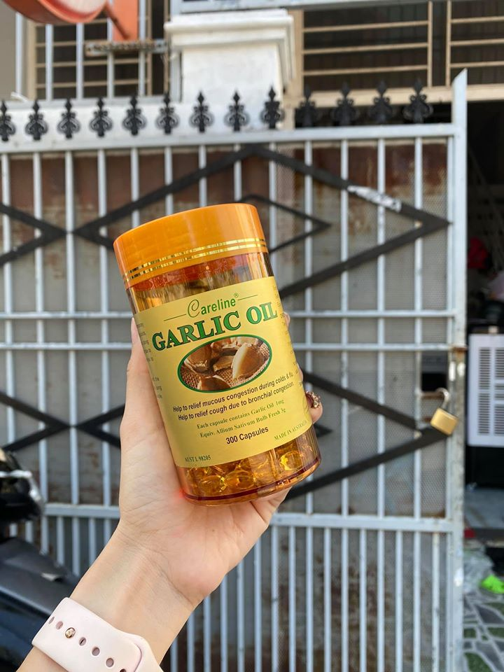 Tinh dầu tỏi Garlic Oil Careline