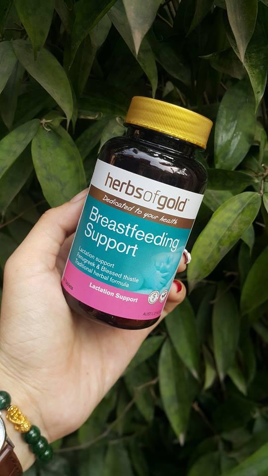 Viên lợi sữa Herbs of gold Breastfeeding