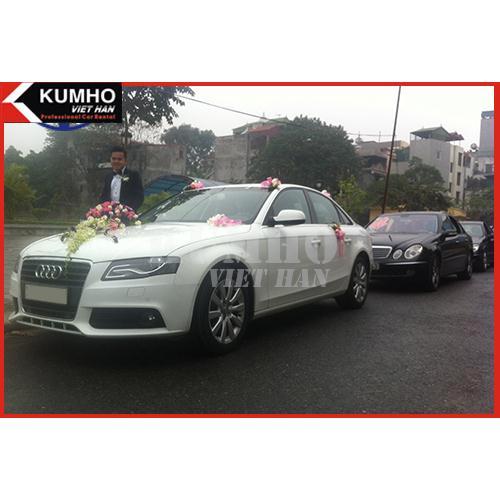 Audi A4 Trắng Sang Trọng Cao Cấp ( Nội Thành )