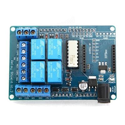 Four Channel Relay Shield V1.3