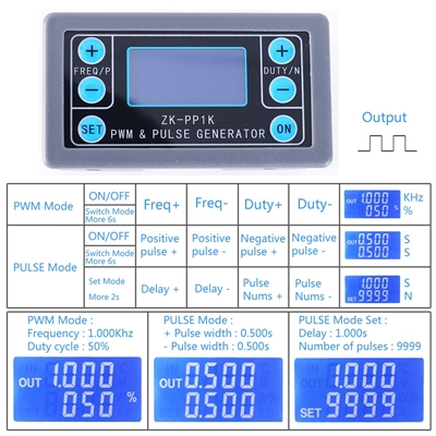 Signal Generator Square Wave ZK-PP1K