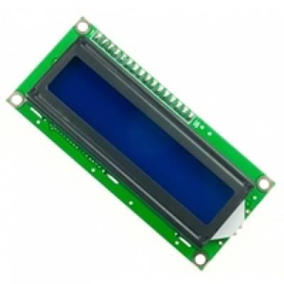 LCD 1602 3.3V blue