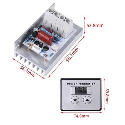 10000W AC 220V High SCR Digital