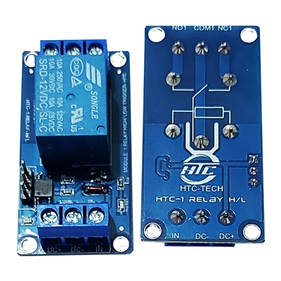 MODULE 1 RELAY 12V OPTO HIGH/LOW HTC