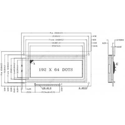 LCD19264-W