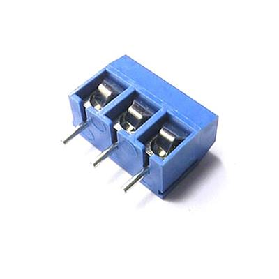 KF301 3Pin 5.0mm BLUE