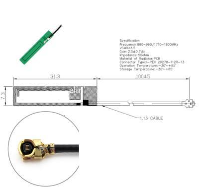 PCB GSM Atenna 02