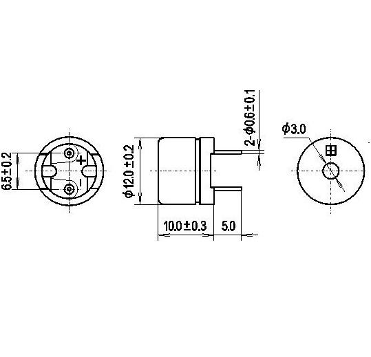 D12-5V- siren piezo