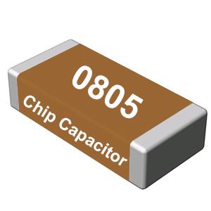 CAP CER 100pF - 0805