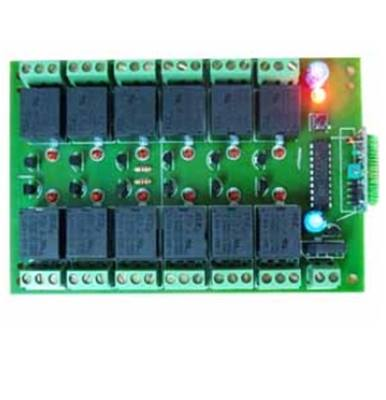 Module RF 12 channel relay