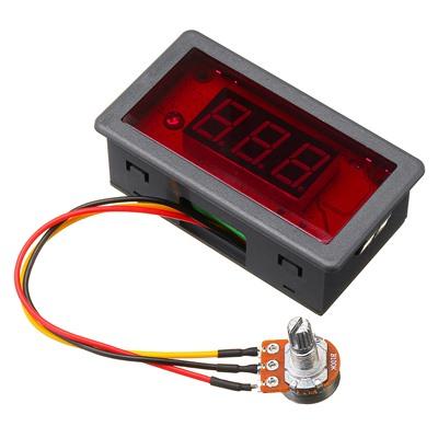 PWM DC Motor Speed Display LED 6V-24V 5A