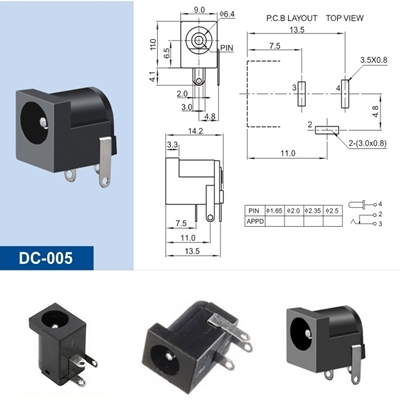 Power Jack DC-005 5.5*2.1mm