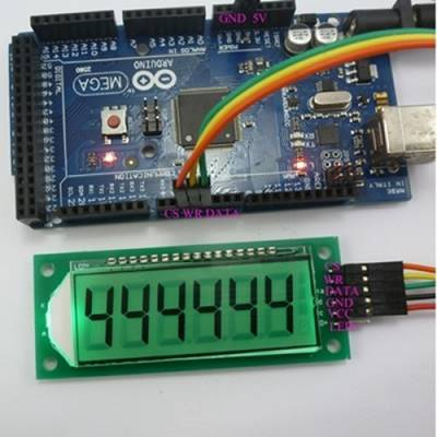 LCD Arduino 6 Digit