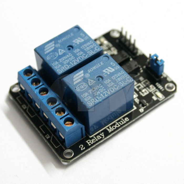 2-Channel Relay Module 5V