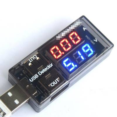LED-05- USB Charge Voltage Current