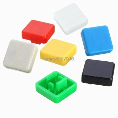 white color KeyCaps 12X12X5.8mm -Square