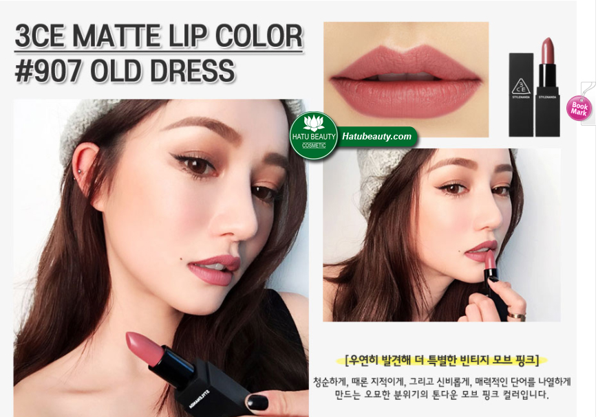 Son 3CE Matte Lip Color