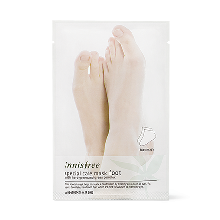 Mặt Nạ Dưỡng ẩm chân Innisfree Special Care Mask Foot