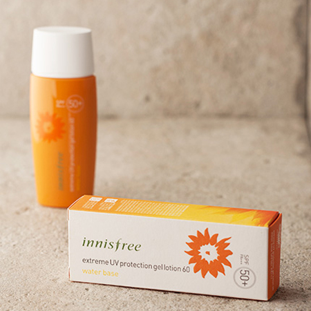 Kem chống nắng Innisfree Extreme UV Protection Gel lotion 60 Water Base SPF50