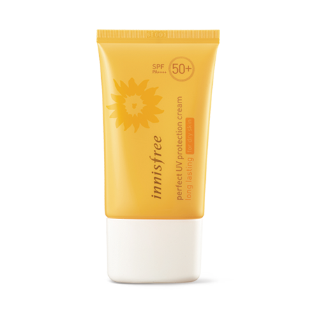 Kem Chống Nắng Cho Da Khô Innisfree Perfect UV Protection Cream Long Lasting For Dry Skin