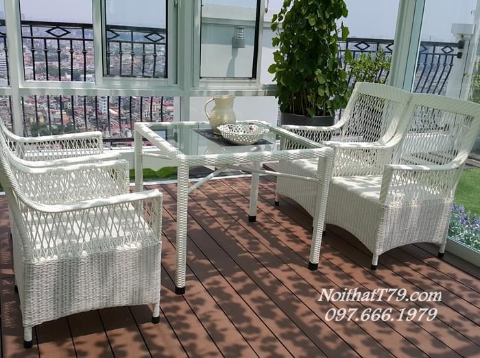 Bàn ghế Cafe 122928