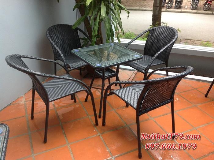 Bàn ghế cafe 0556