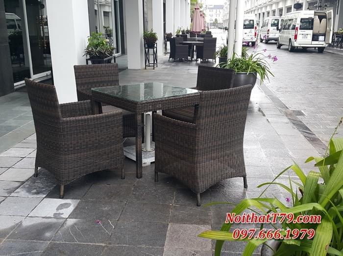 Bàn ghế cafe 122957