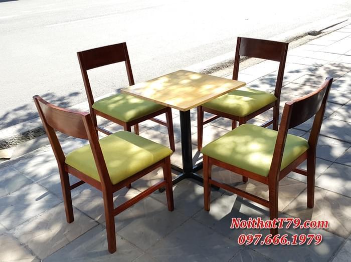 Bàn ghế gỗ 123508