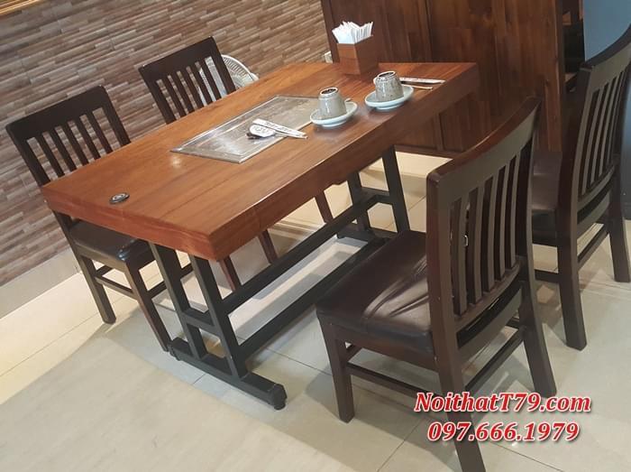 Bàn ghế gỗ 145529