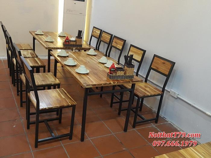 Bàn ghế nhà hàng 174350
