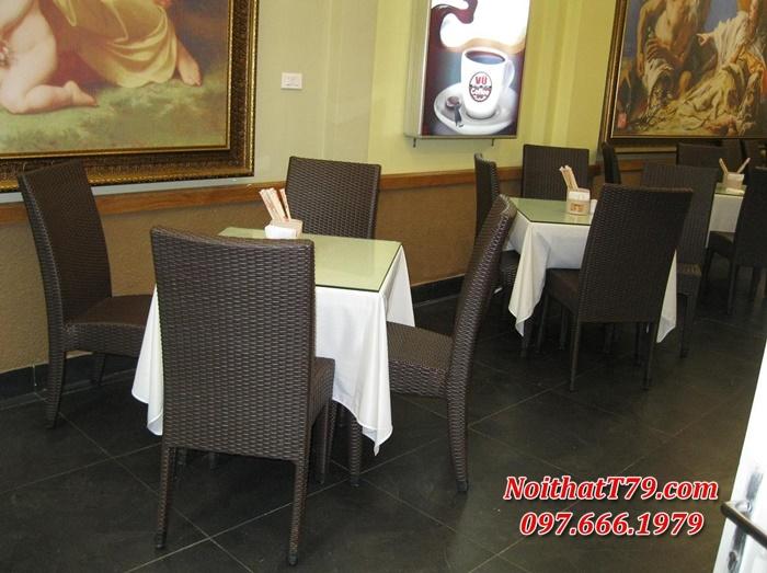 Bàn ghế nhà hàng 0039