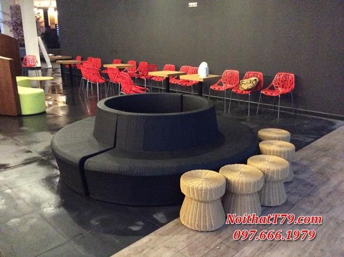 sofa sảnh rạp chiếu phim