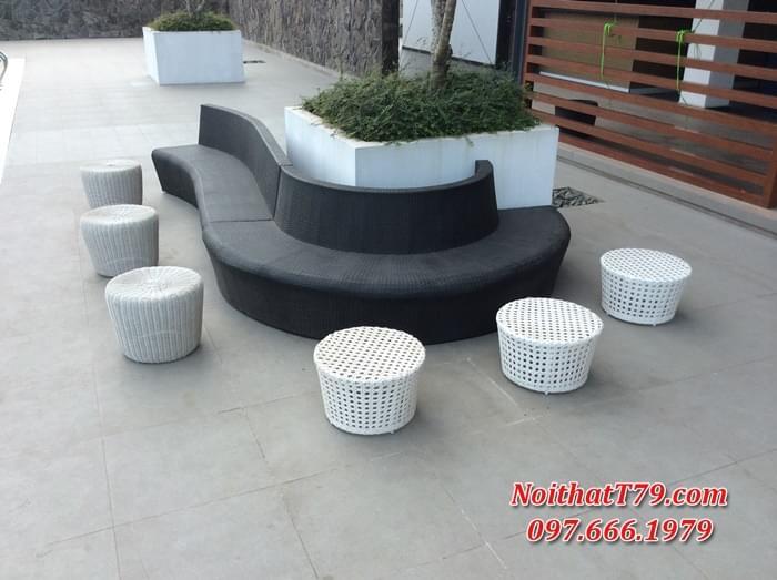 sofa nhà hàng